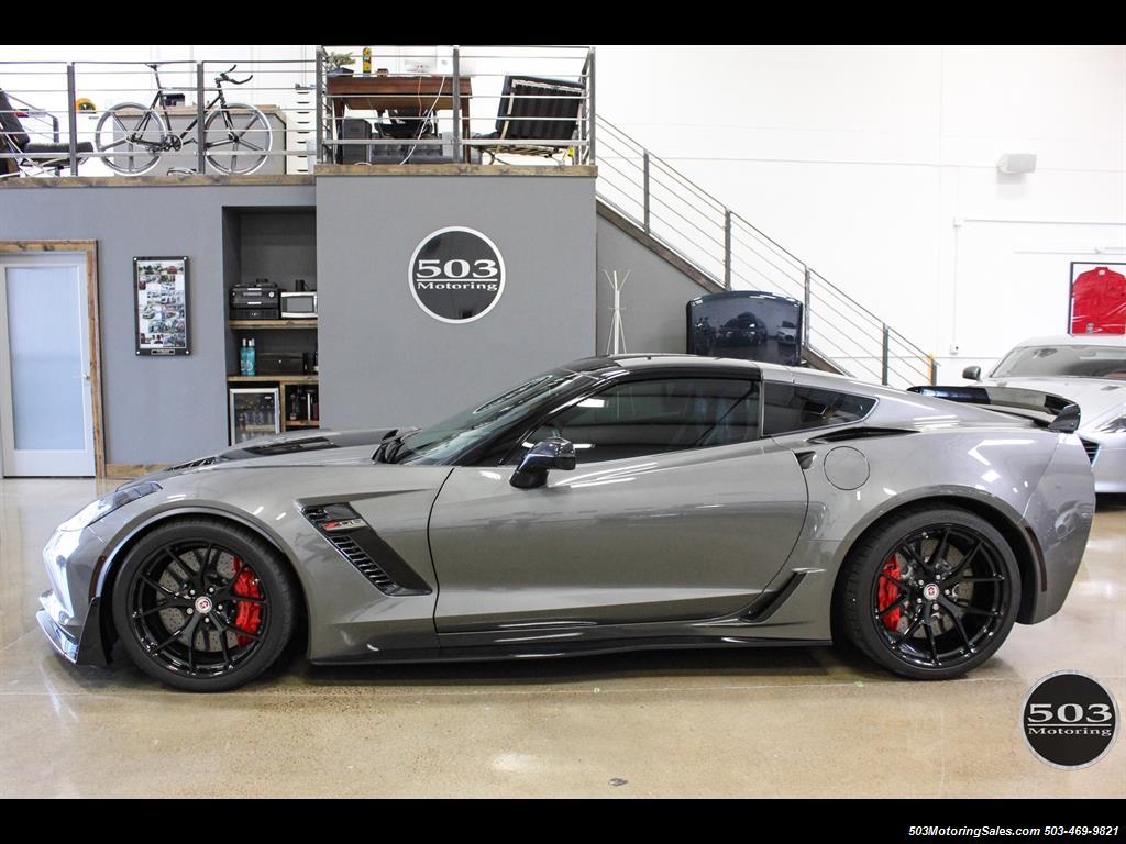 2017 Chevrolet Corvette Z06 Z07 Package With Hre Wheels Only 6k Miles