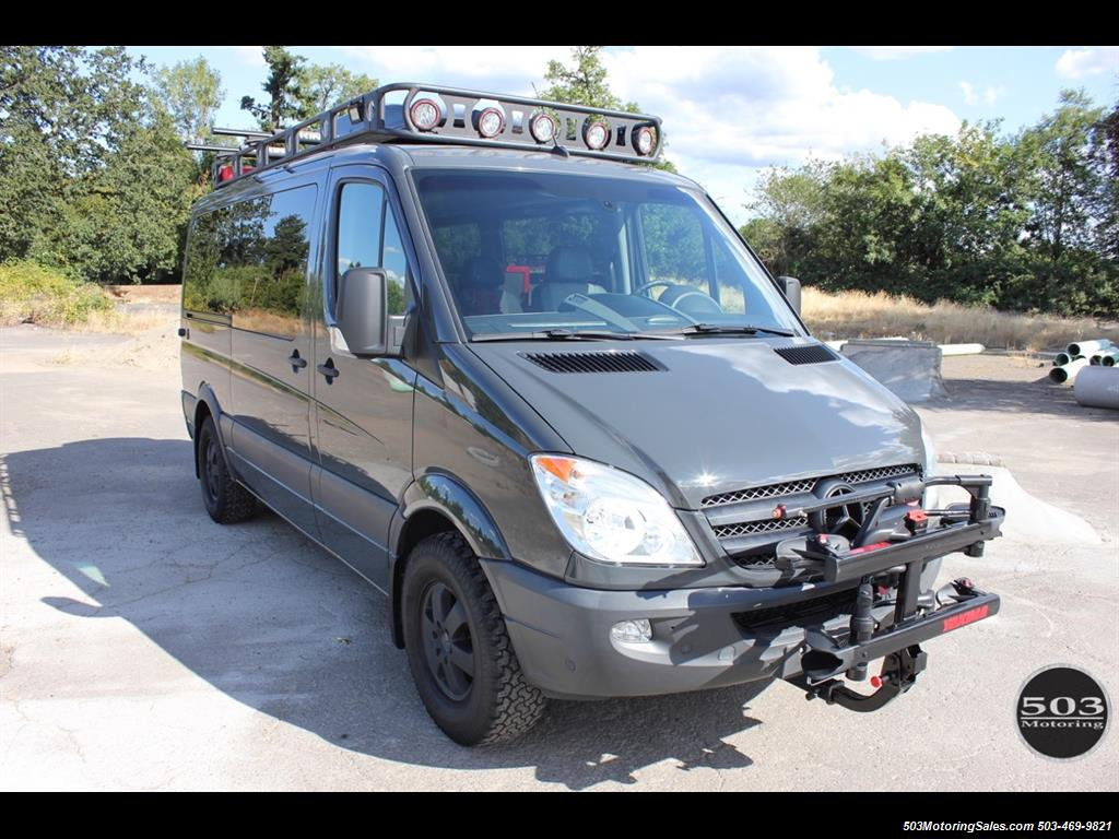 Air Bag Jack >> 2008 Dodge Sprinter Mercedes Outside Van Conversion