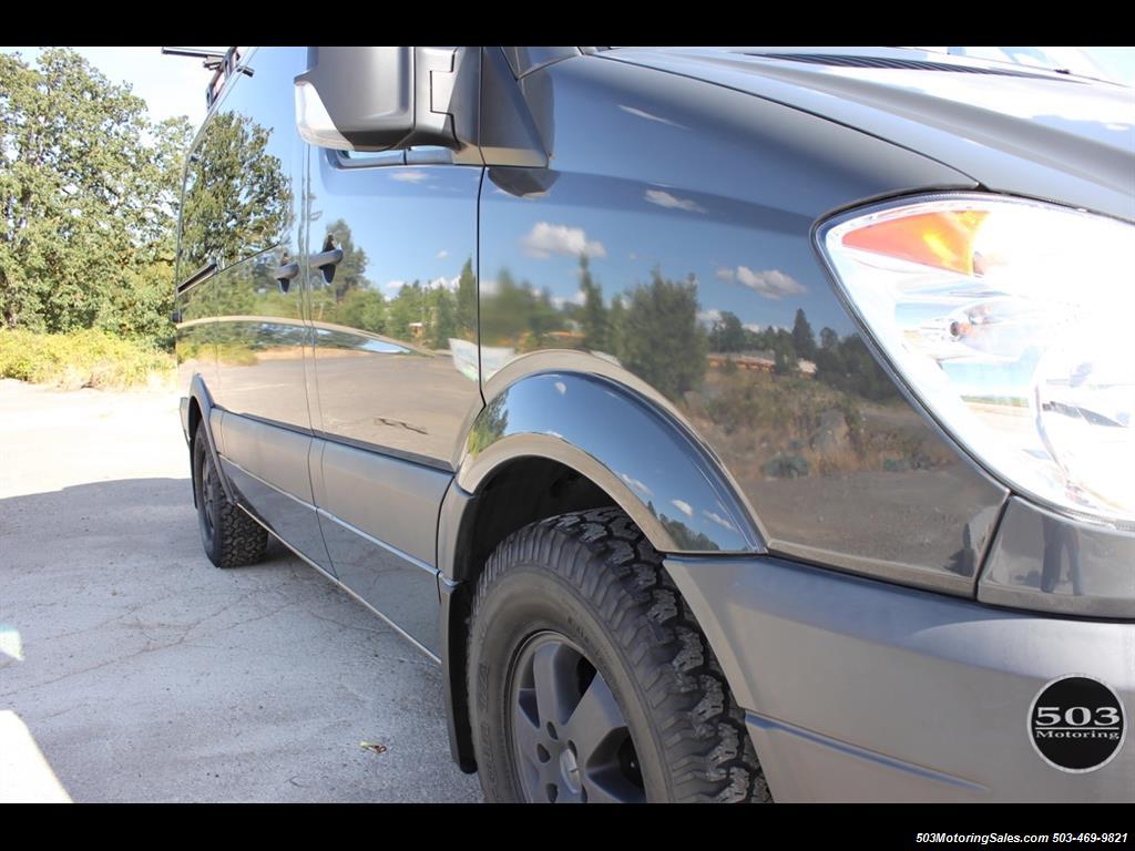 2008 Dodge Sprinter Mercedes Outside Van Conversion