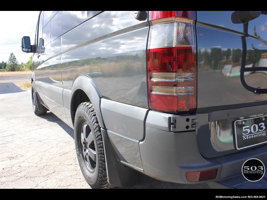 away view sprinter from the benz vans b conversion van extended your slide sportsmobile camper body home mercedes of custom