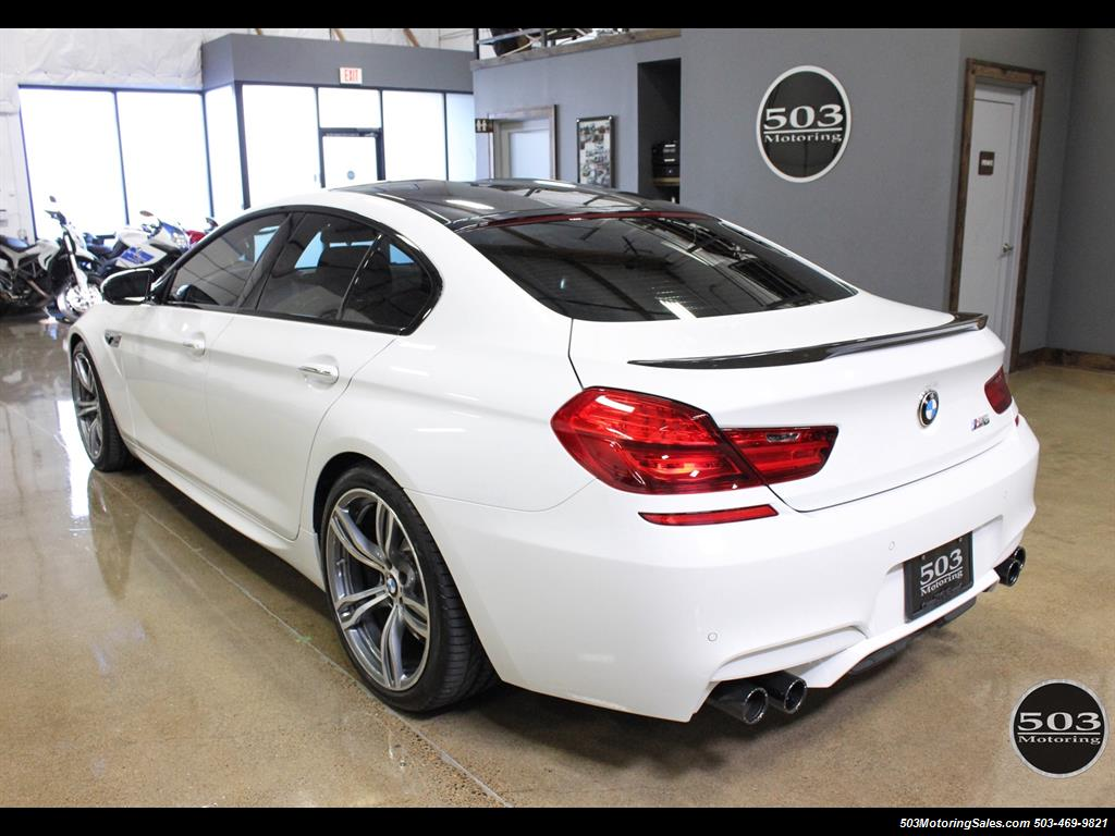 2016 Bmw M6 Gran Coupe White Competition Pack 1 5k Miles