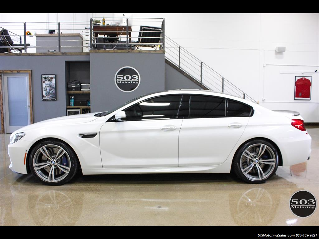 2016 BMW M6 Gran Coupe White Competition Pack 15k Miles