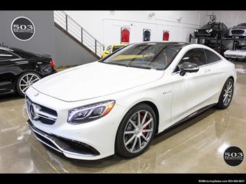 2016 Mercedes-Benz AMG S63 Designo, Perfectly Specced w/ 3900 Miles! Coupe