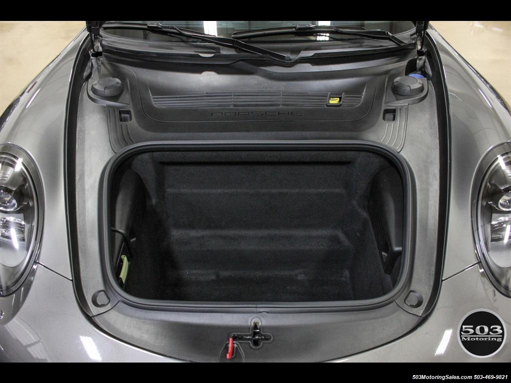 2014 Porsche 911 Carrera S; Agate Grey/Black w/ $119k MSRP! - Photo 40 - Beaverton, OR 97005