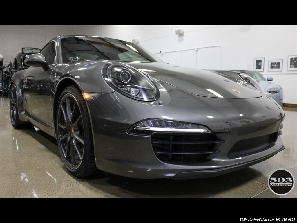 2014 Porsche 911 Carrera S; Agate Grey/Black w/ $119k MSRP! - Photo 7 - Beaverton, OR 97005