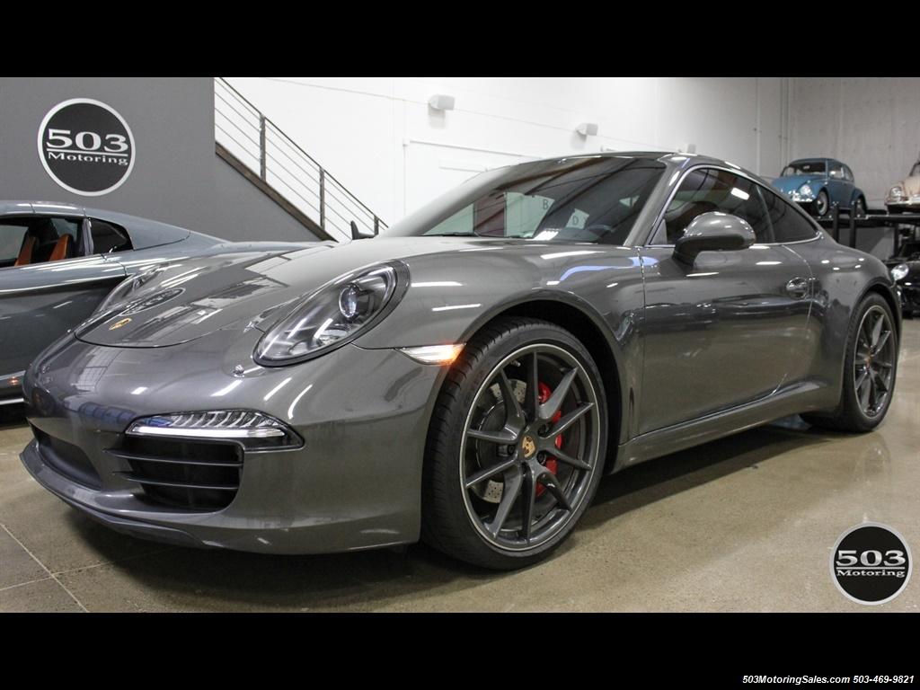 2014 Porsche 911 Carrera S; Agate Grey/Black w/ $119k MSRP! - Photo 1 - Beaverton, OR 97005