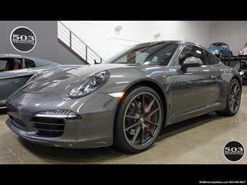 2014 Porsche 911 Carrera S; CPO WARRANTY TRANSFERABLE, Grey/Black Coupe