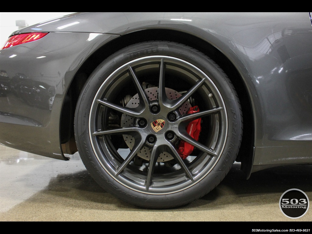 2014 Porsche 911 Carrera S; Agate Grey/Black w/ $119k MSRP! - Photo 22 - Beaverton, OR 97005