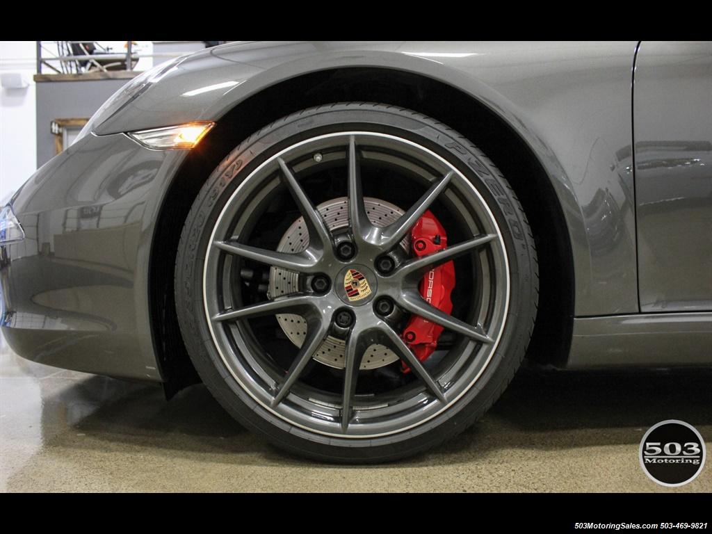 2014 Porsche 911 Carrera S; Agate Grey/Black w/ $119k MSRP! - Photo 20 - Beaverton, OR 97005