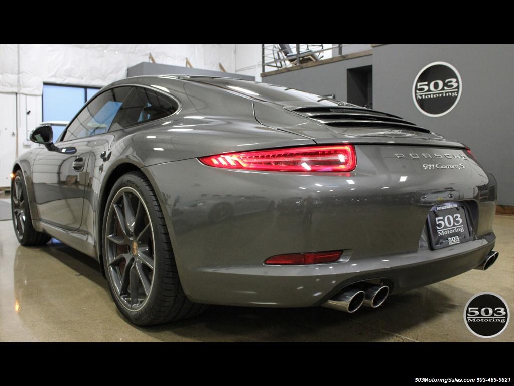 2014 Porsche 911 Carrera S; Agate Grey/Black w/ $119k MSRP! - Photo 3 - Beaverton, OR 97005