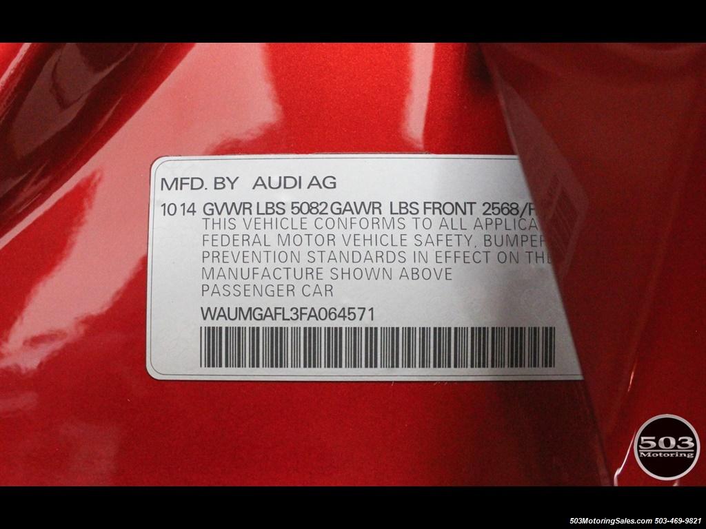 2015 Audi S4 3.0T quattro Prestige; Manual, Loaded w/ 15k Miles - Photo 56 - Beaverton, OR 97005