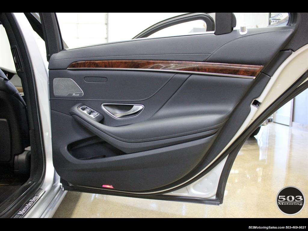 2014 Mercedes-Benz S550; One Owner Iridium Silver/Black w/ 38k Miles! - Photo 44 - Beaverton, OR 97005
