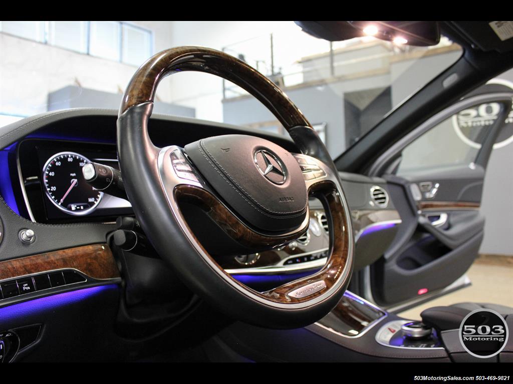 2014 Mercedes-Benz S550; One Owner Iridium Silver/Black w/ 38k Miles! - Photo 22 - Beaverton, OR 97005
