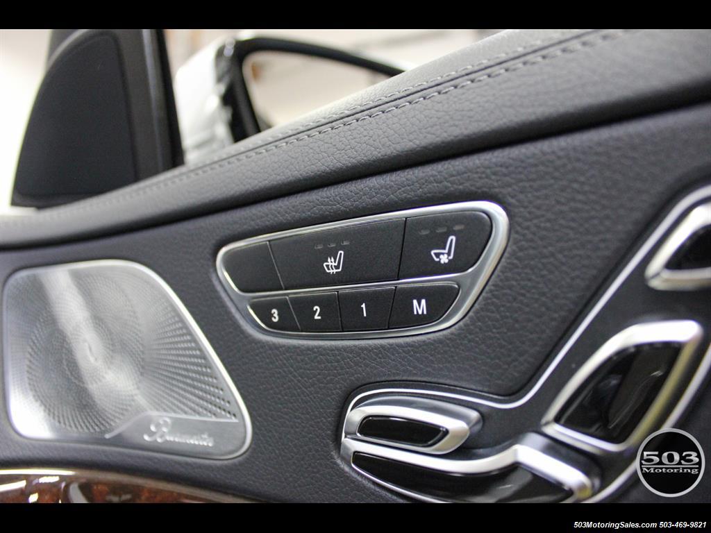 2014 Mercedes-Benz S550; One Owner Iridium Silver/Black w/ 38k Miles! - Photo 38 - Beaverton, OR 97005