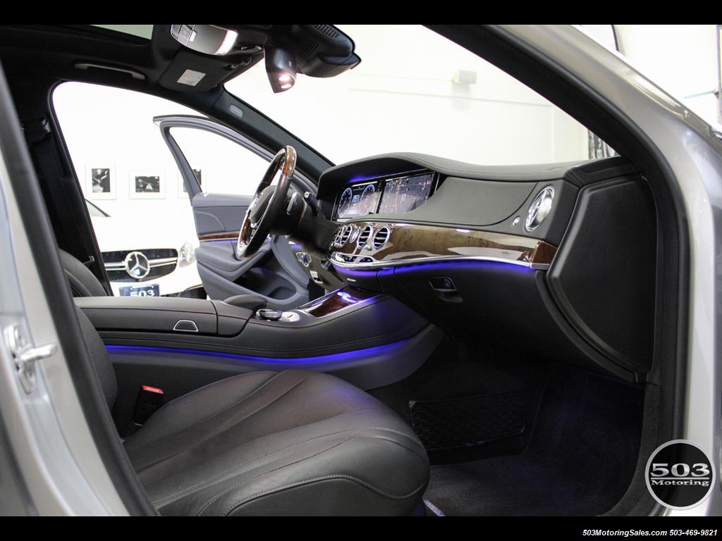 2014 Mercedes-Benz S550; One Owner Iridium Silver/Black w/ 38k Miles! - Photo 33 - Beaverton, OR 97005