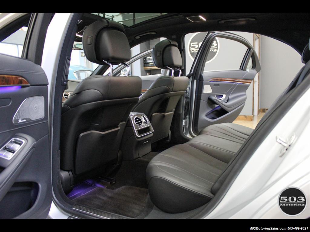 2014 Mercedes-Benz S550; One Owner Iridium Silver/Black w/ 38k Miles! - Photo 39 - Beaverton, OR 97005
