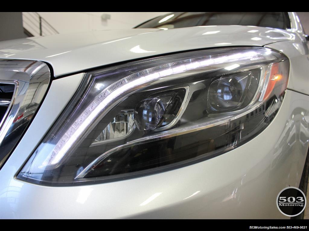 2014 Mercedes-Benz S550; One Owner Iridium Silver/Black w/ 38k Miles! - Photo 11 - Beaverton, OR 97005