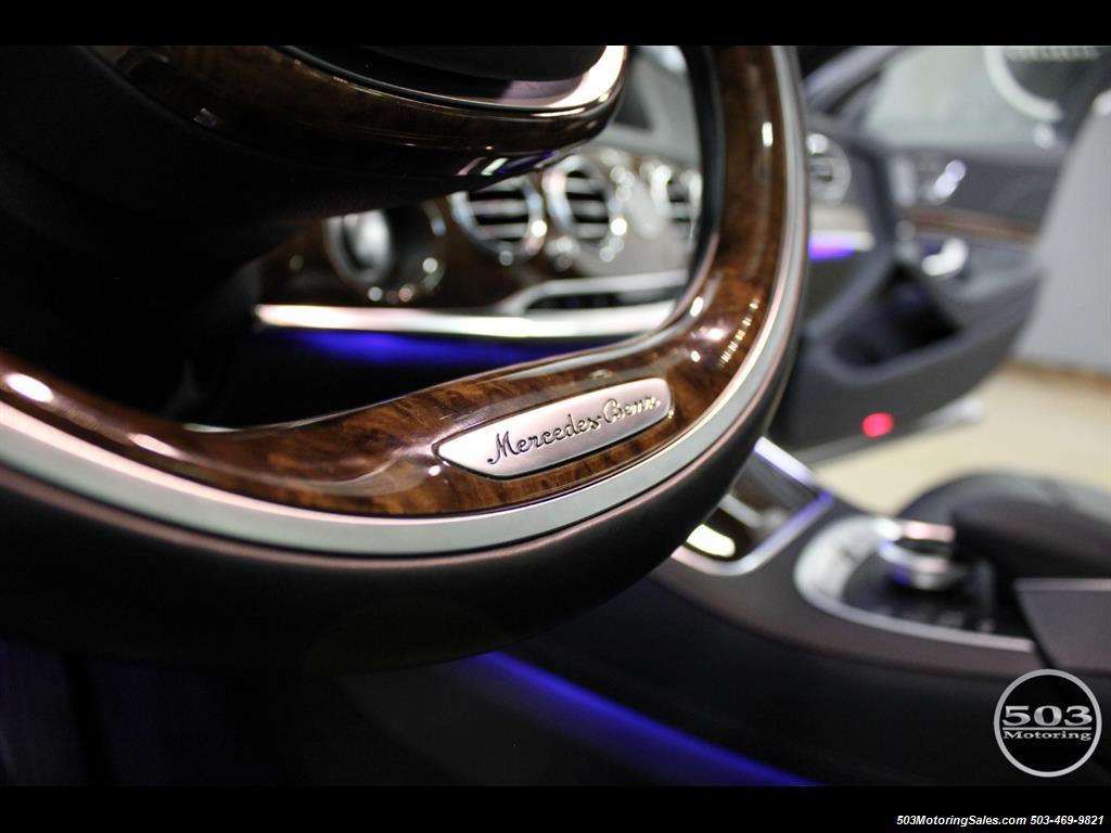 2014 Mercedes-Benz S550; One Owner Iridium Silver/Black w/ 38k Miles! - Photo 23 - Beaverton, OR 97005