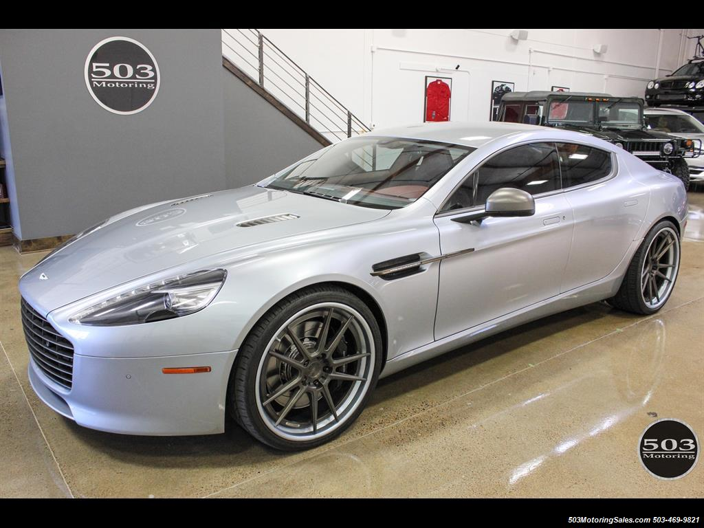 2014 Aston Martin Rapide S Skyfall Silver One Owner W/ Less Than 12k Miles
