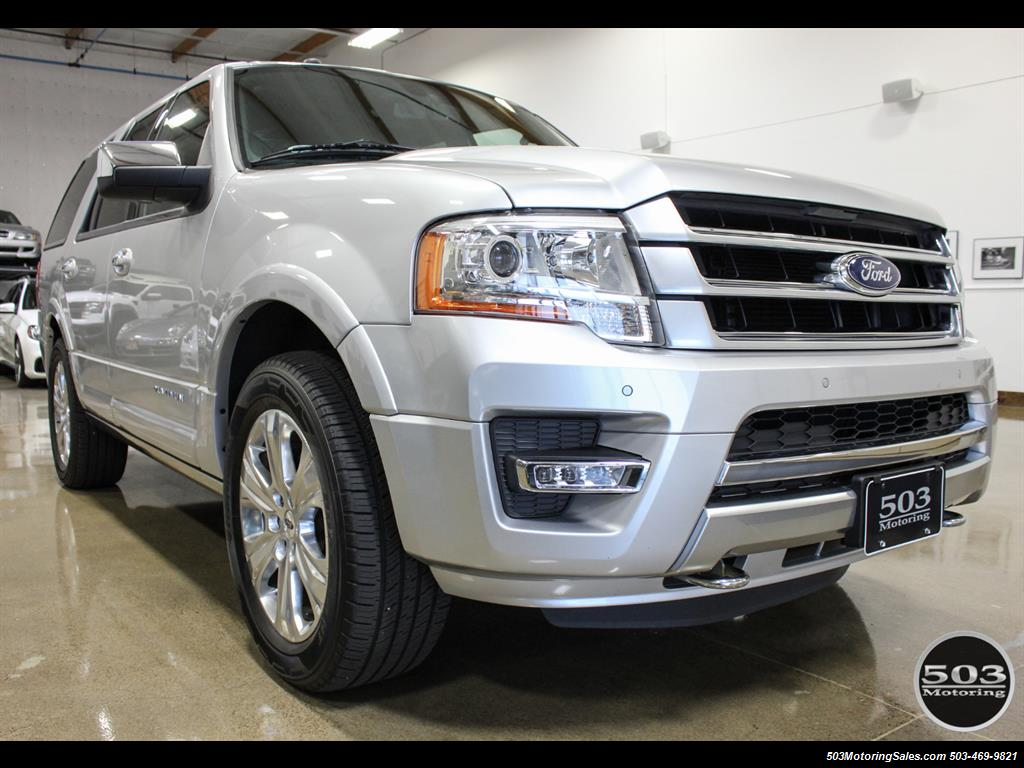 2017 Ford Expedition Platinum 4x4; Silver/Black w/ Less than 8k Miles! - Photo 7 - Beaverton, OR 97005
