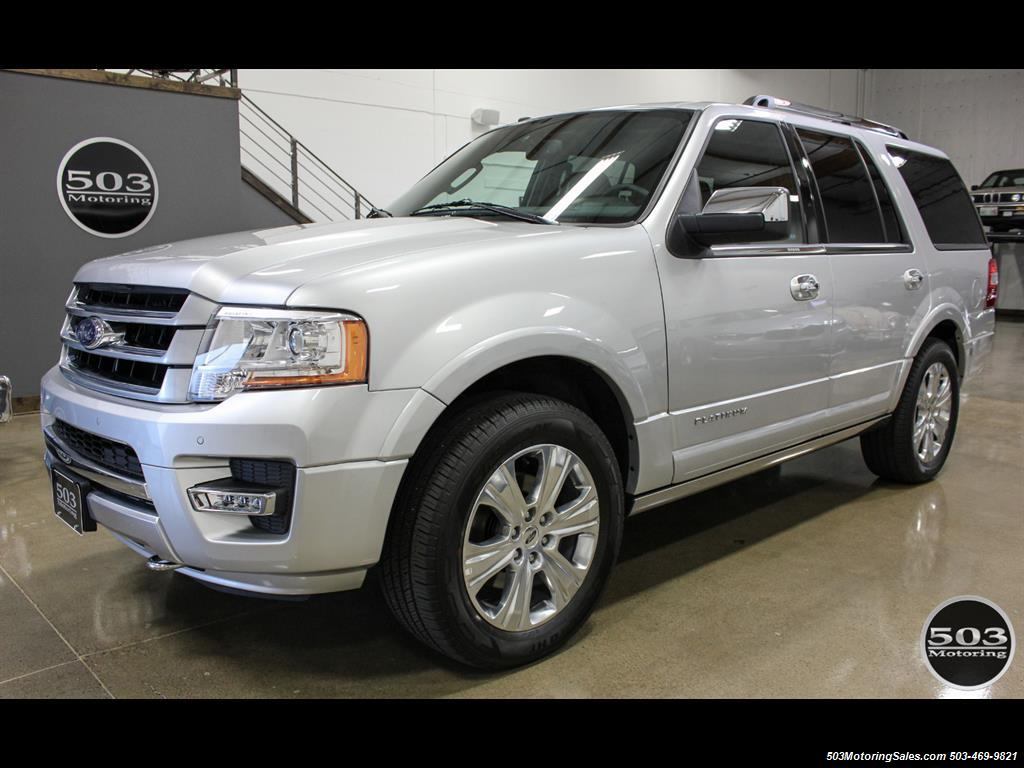 2017 Ford Expedition Platinum 4x4; Silver/Black w/ Less than 8k Miles! - Photo 1 - Beaverton, OR 97005