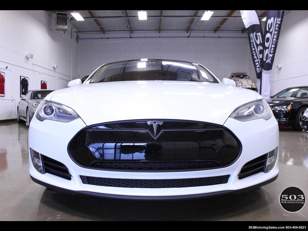 2013 Tesla Model S Performance, Excellent One Owner in Pearl