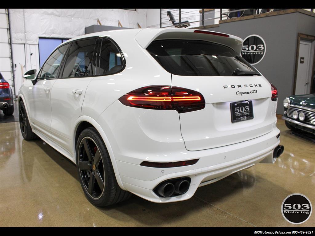 2016 Porsche Cayenne GTS; White/Black w/ Only 9k Miles!