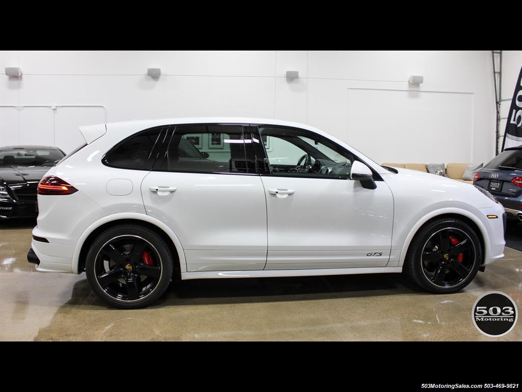 2016 Porsche Cayenne Gts White Black W Only 9k Miles