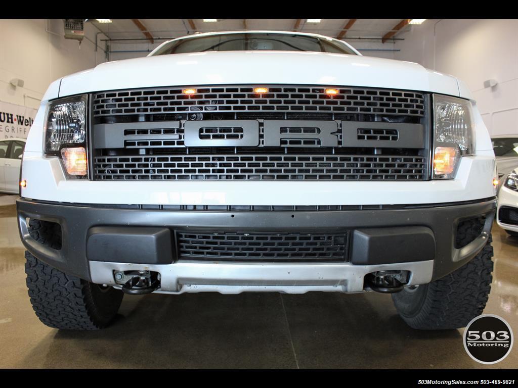 2010 Ford F-150 SVT Raptor; White/Black w/ Only 17k Miles! - Photo 7 - Beaverton, OR 97005