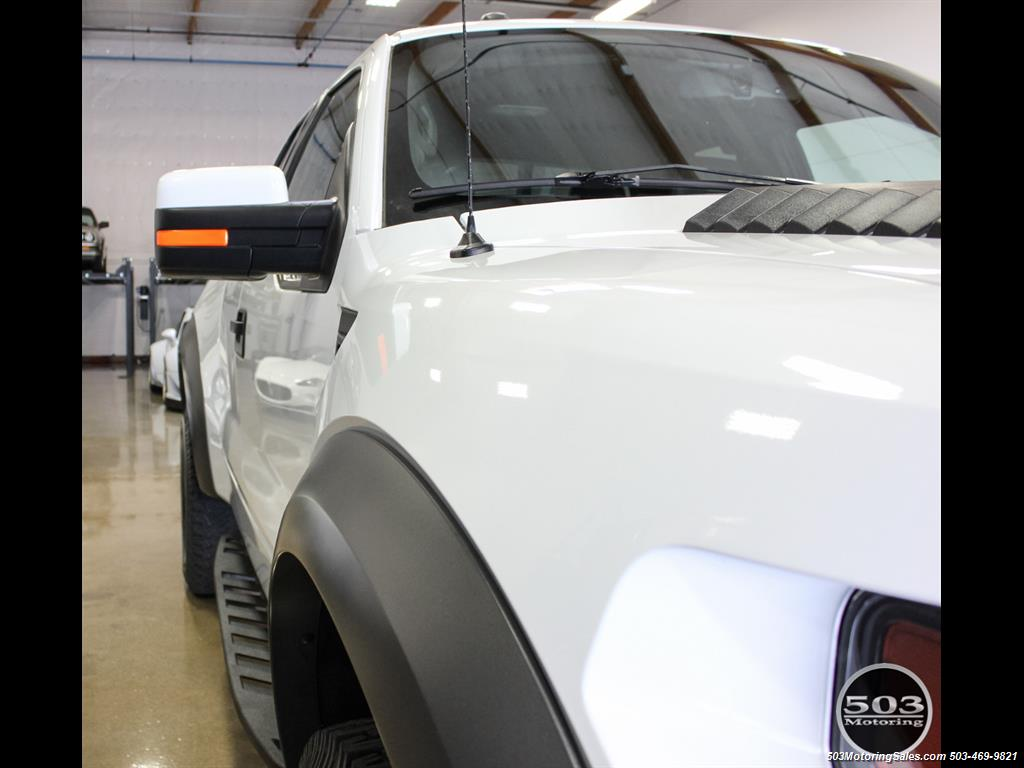 2010 Ford F-150 SVT Raptor; White/Black w/ Only 17k Miles! - Photo 15 - Beaverton, OR 97005