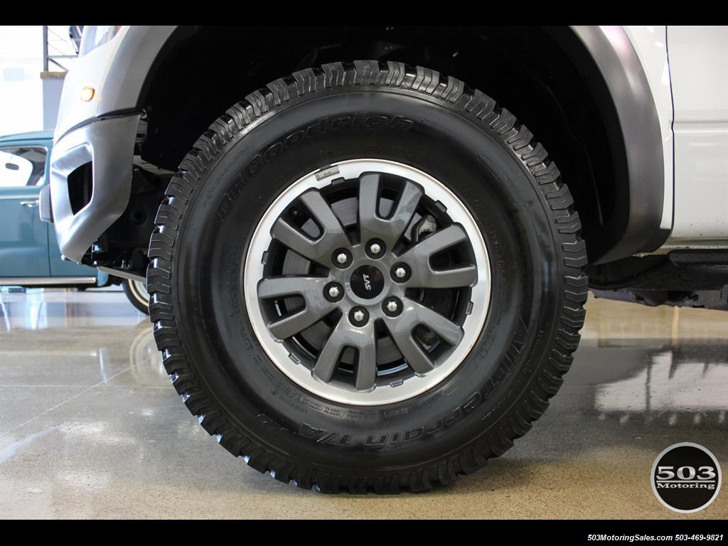2010 Ford F-150 SVT Raptor; White/Black w/ Only 17k Miles! - Photo 20 - Beaverton, OR 97005