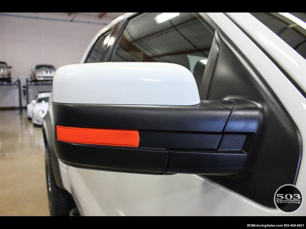 2010 Ford F-150 SVT Raptor; White/Black w/ Only 17k Miles! - Photo 13 - Beaverton, OR 97005