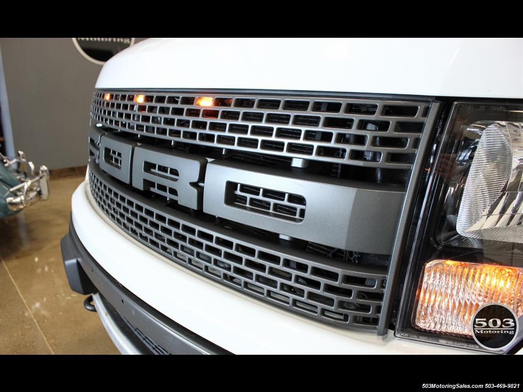 2010 Ford F-150 SVT Raptor; White/Black w/ Only 17k Miles! - Photo 9 - Beaverton, OR 97005