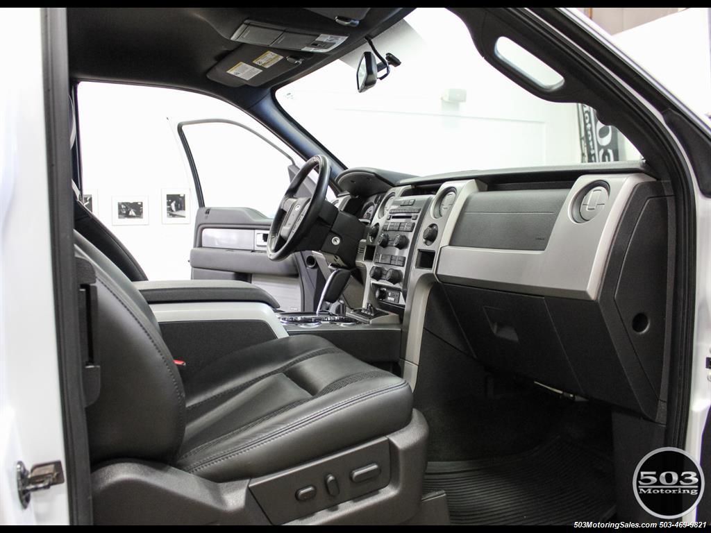 2010 Ford F-150 SVT Raptor; White/Black w/ Only 17k Miles! - Photo 38 - Beaverton, OR 97005