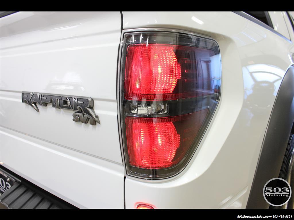 2010 Ford F-150 SVT Raptor; White/Black w/ Only 17k Miles! - Photo 19 - Beaverton, OR 97005