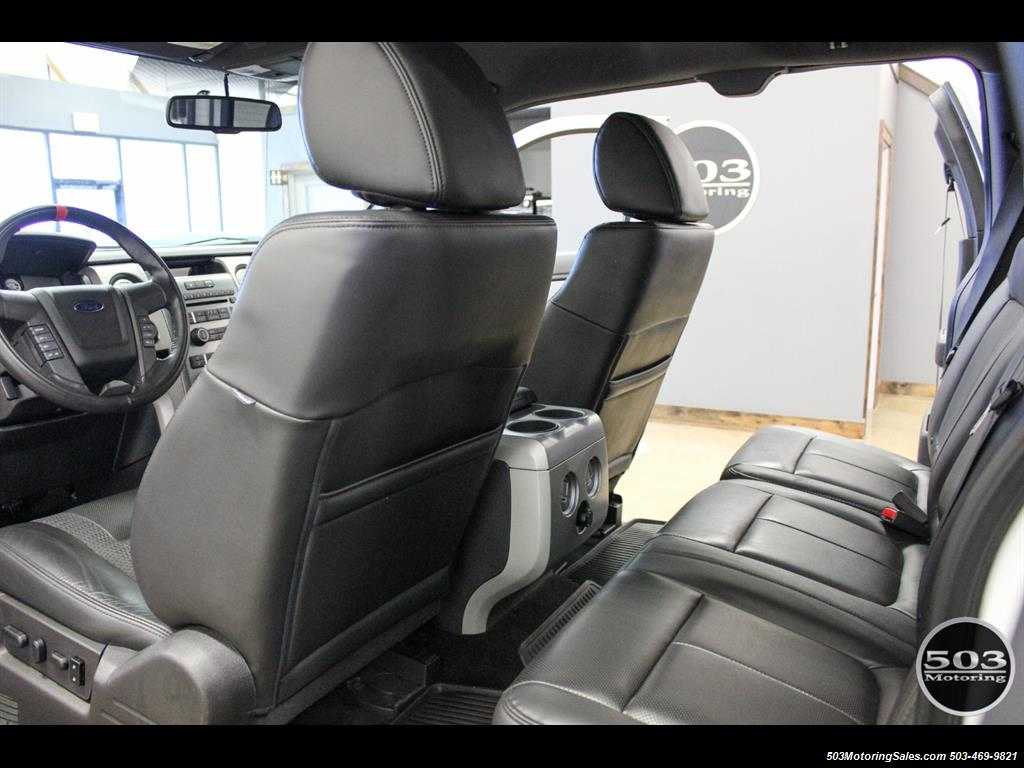 2010 Ford F-150 SVT Raptor; White/Black w/ Only 17k Miles! - Photo 43 - Beaverton, OR 97005