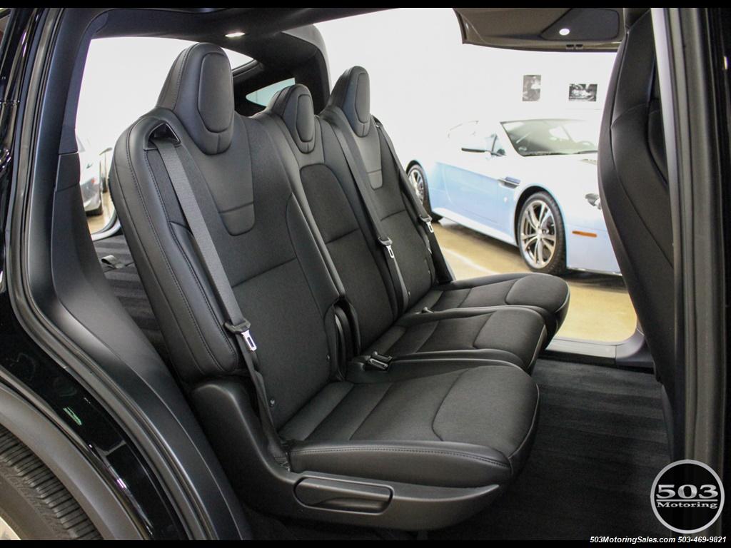 2017 Tesla Model X 75D; One Owner, Black/Black w/ 7k Miles! - Photo 48 - Beaverton, OR 97005