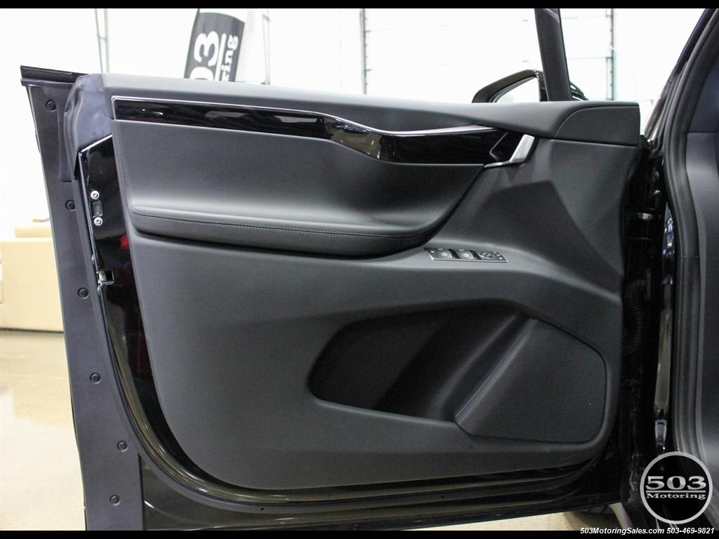 2017 Tesla Model X 75D; One Owner, Black/Black w/ 7k Miles! - Photo 37 - Beaverton, OR 97005