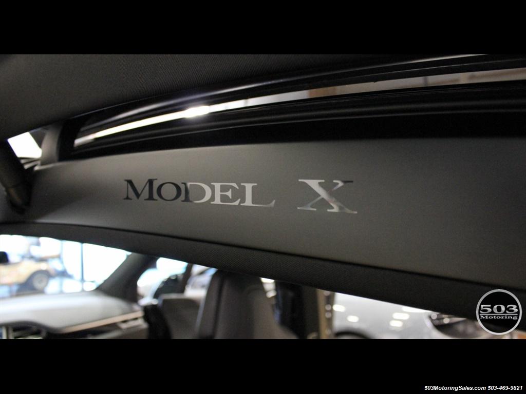 2017 Tesla Model X 75D; One Owner, Black/Black w/ 7k Miles! - Photo 46 - Beaverton, OR 97005
