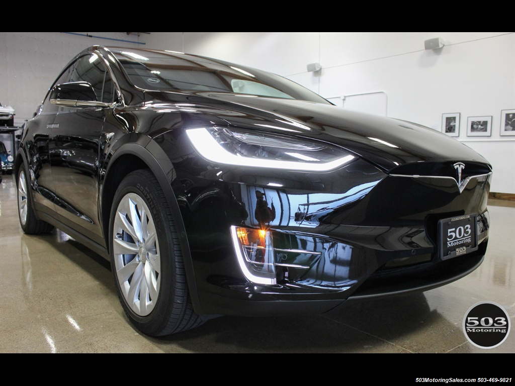 2017 Tesla Model X 75D; One Owner, Black/Black w/ 7k Miles! - Photo 7 - Beaverton, OR 97005