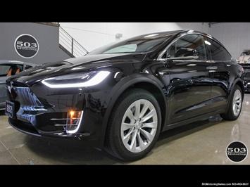 2017 Tesla Model X 75D; One Owner, Black/Black w/ 7k Miles!