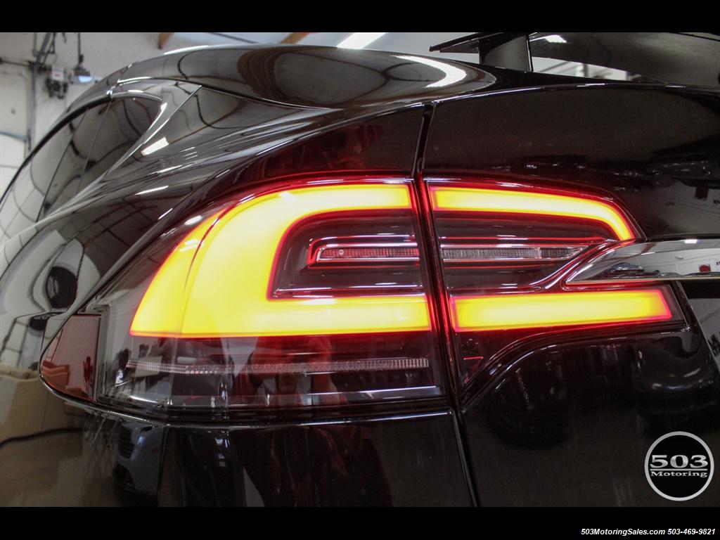 2017 Tesla Model X 75D; One Owner, Black/Black w/ 7k Miles! - Photo 20 - Beaverton, OR 97005