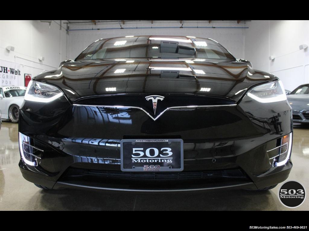 2017 Tesla Model X 75D; One Owner, Black/Black w/ 7k Miles! - Photo 8 - Beaverton, OR 97005