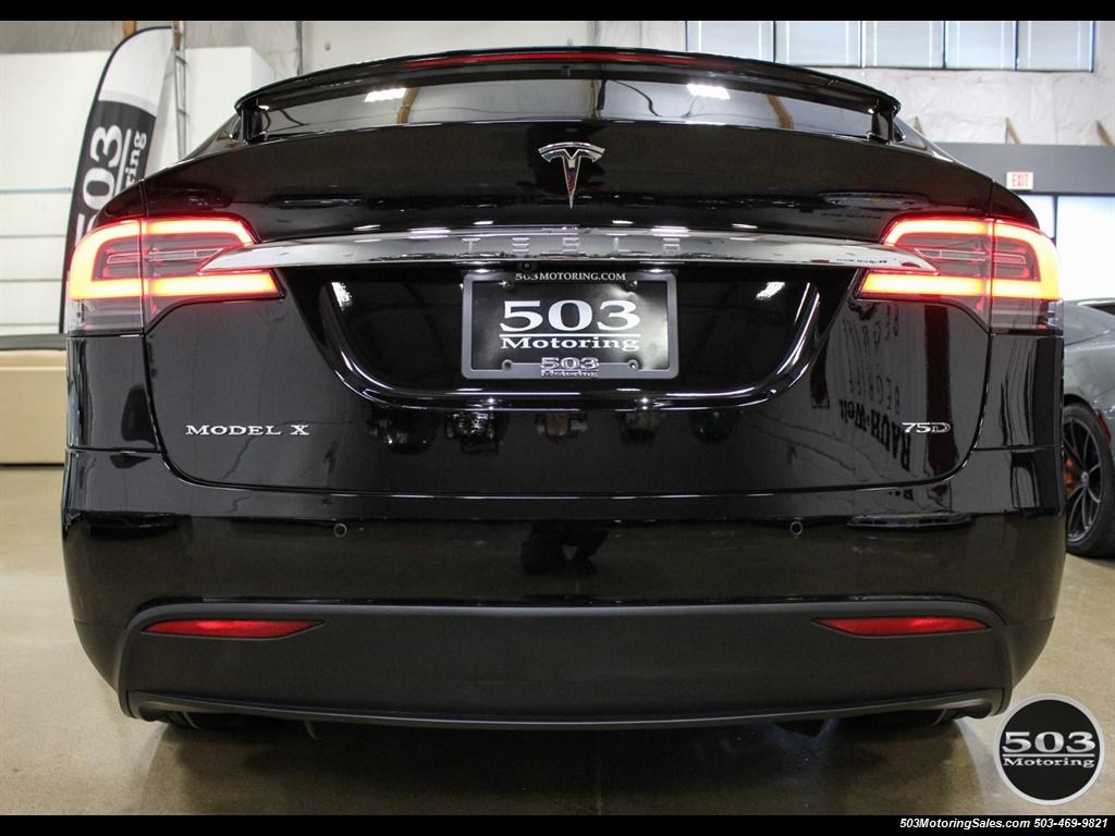 2017 Tesla Model X 75D; One Owner, Black/Black w/ 7k Miles! - Photo 4 - Beaverton, OR 97005