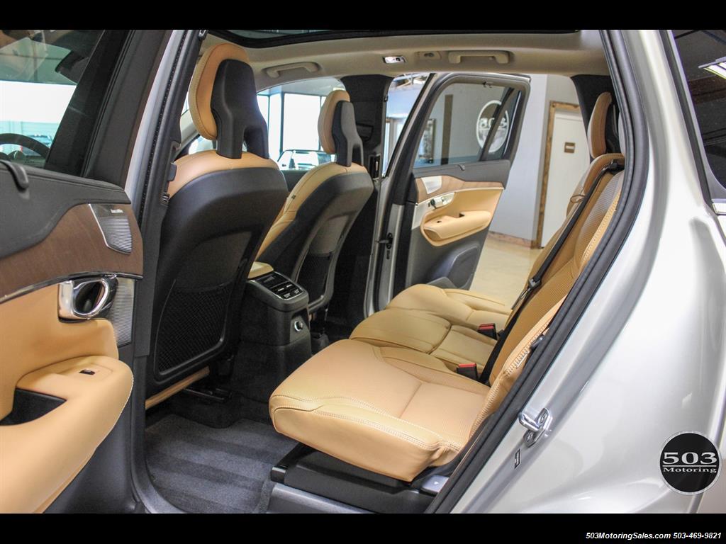 2016 Volvo XC90 T8 Plug-in Hybrid Inscription, Less than 6k Miles!