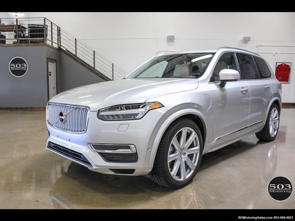 2016 volvo xc90 t8 plug in hybrid inscription less than 6k miles. Black Bedroom Furniture Sets. Home Design Ideas