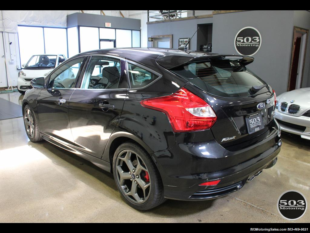 2014 Ford Focus St One Owner Loaded Tuxedo Black Antenna Photo