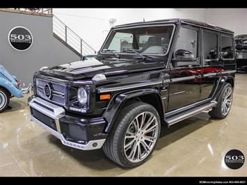 2016 Mercedes-Benz AMG G63; Black/Black, Brabus w/ Only 880 Miles! SUV