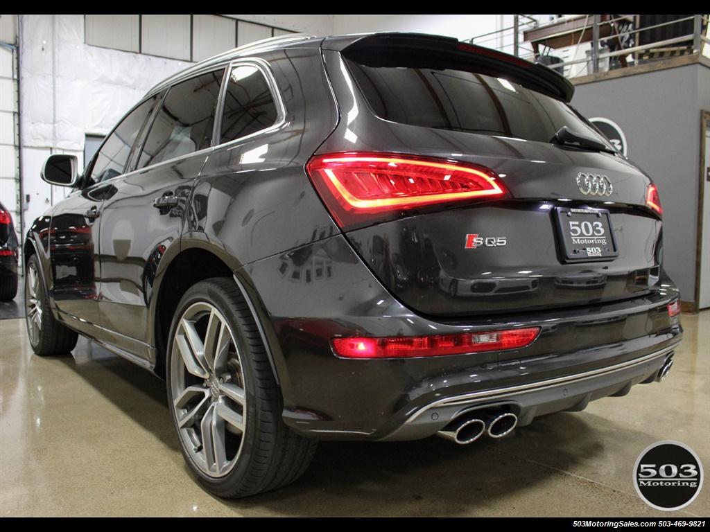 2014 Audi SQ5 3.0T quattro Premium Plus; Lava Grey One Owner!