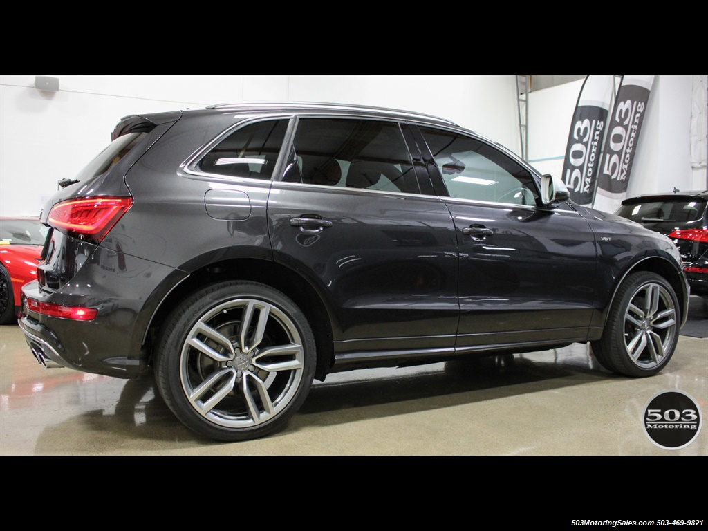 B & B Auto Sales >> 2014 Audi SQ5 3.0T quattro Premium Plus; Lava Grey One Owner!